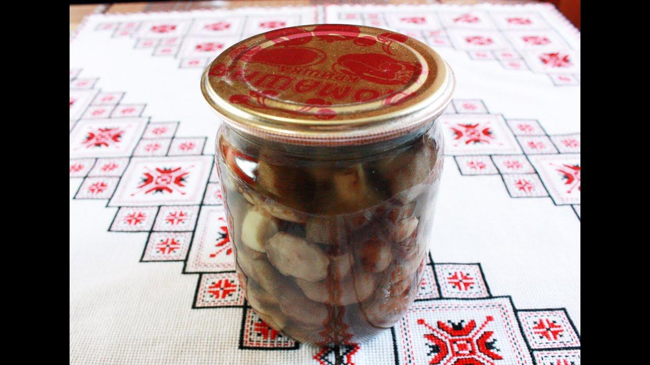 грибы свинухи как мариновать рецепт