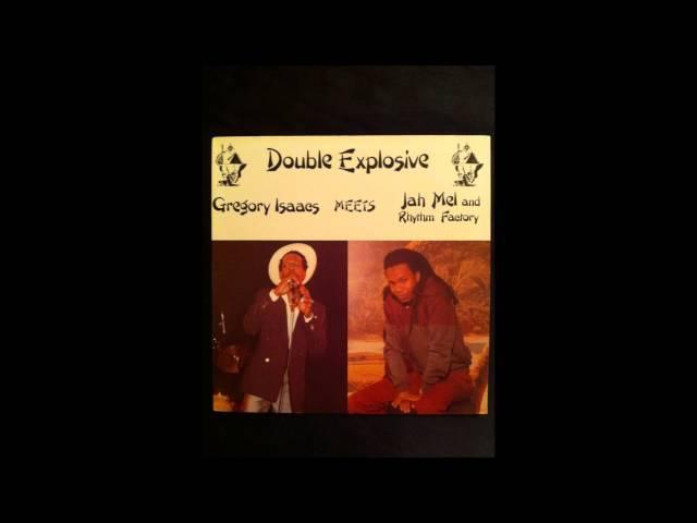 "Double Xplosive GREGORY ISAACS Meets JAHMEL and The RHYTHM FACTORY~ ""Dreadlocks Bongo I"""
