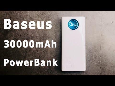 Нужно зарядить Макбук? I Baseus 30000 MAh  QC 3.0 PD FC 33W