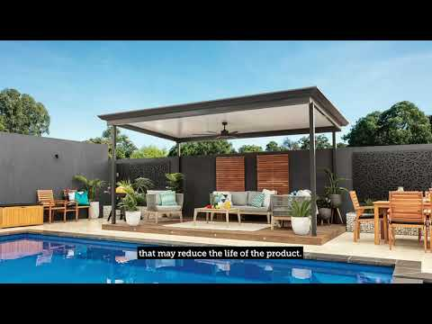 Stratco HowTo. Maintenance Video - Outback Flat Cooldek