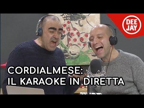 Matteo Curti canta gli U2: il Karaoke in diretta durante Cordialmese