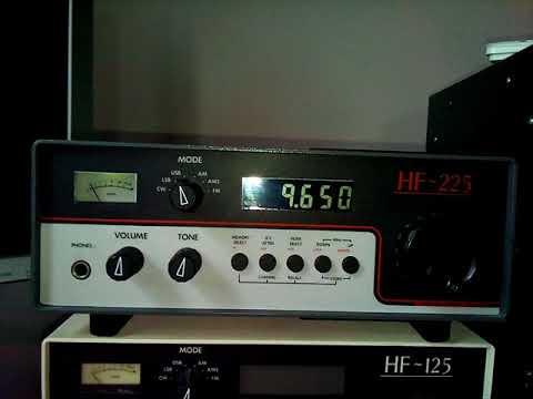 Radio Guinee Conakry 15/10/17 @ 07:35 UTC on 9650 kHz