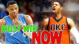 Why this Will Be The MOST IMPORTANT Season of Russell Westbrook and Paul George