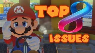 Top 8 ISSUES Mario Kart 8 Deluxe NEEDS TO FIX