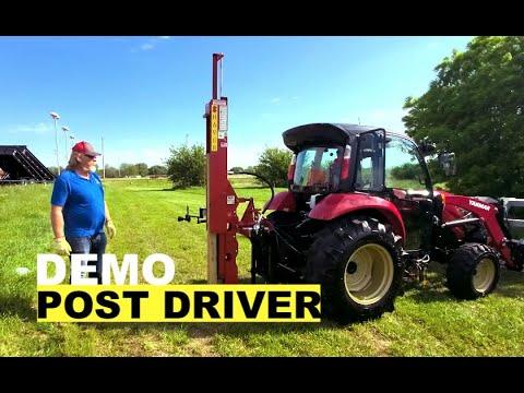 Post Hole Driver Shaver Saver Demo
