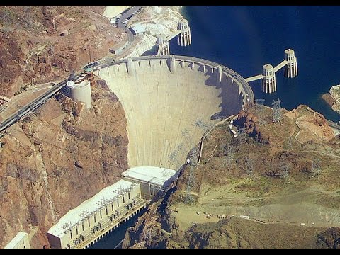 The Largest Concrete Dam in the US - The Hoover Dam
