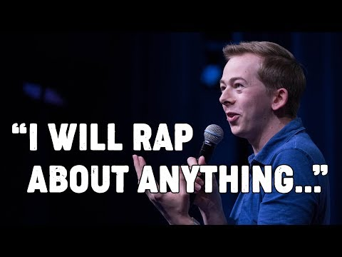 Clint August - White Boy drops unbelievable freestyle rap