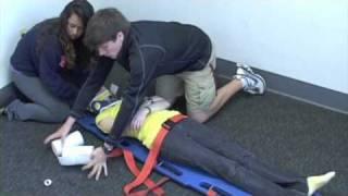 emt skills spineboard