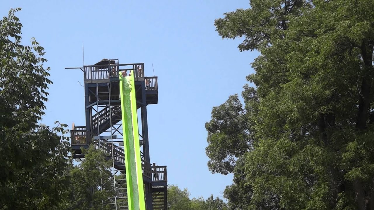 H2 Oh No Waterslide At Mountain Creek Water Park Youtube