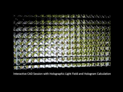 Near-eye Light Field Holographic Rendering with Spherical Waves