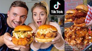 Die 4 besten TikTok Rezepte die Du je gesehen hast!
