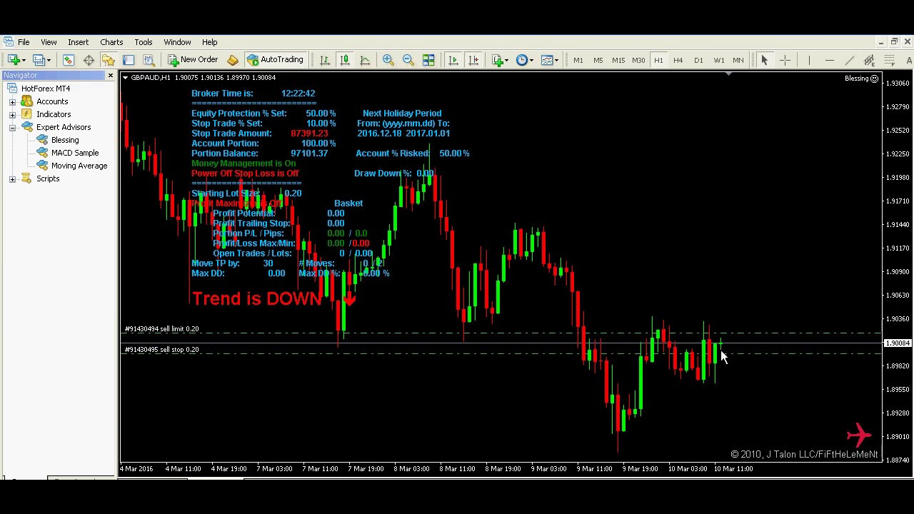 Free forex news trading ea