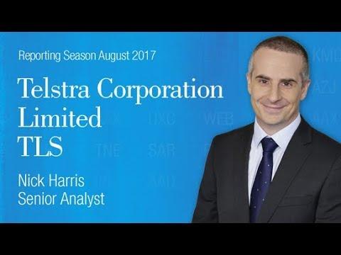 Reporting Season - Telstra Corporation (ASX:TLS): Nick Harris, Senior Analyst