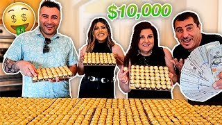 Last to STOP EATING FERRERO Candy Wins $10,000 Challenge