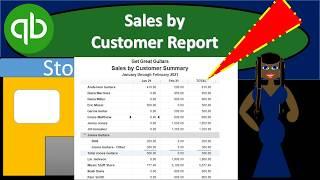 QuickBooks Pro 2019 Sales by Customer Report QuickBooks Desktop 2019