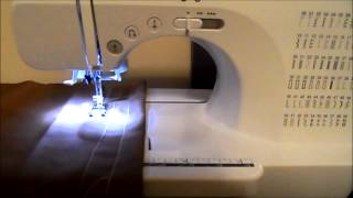 Gettting Started On My New Sewing Machine| Brother CS-6000i (pt. 2/2)