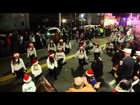 2014 CMFD Holiday Parade of Lights - Dance Elek tra performance