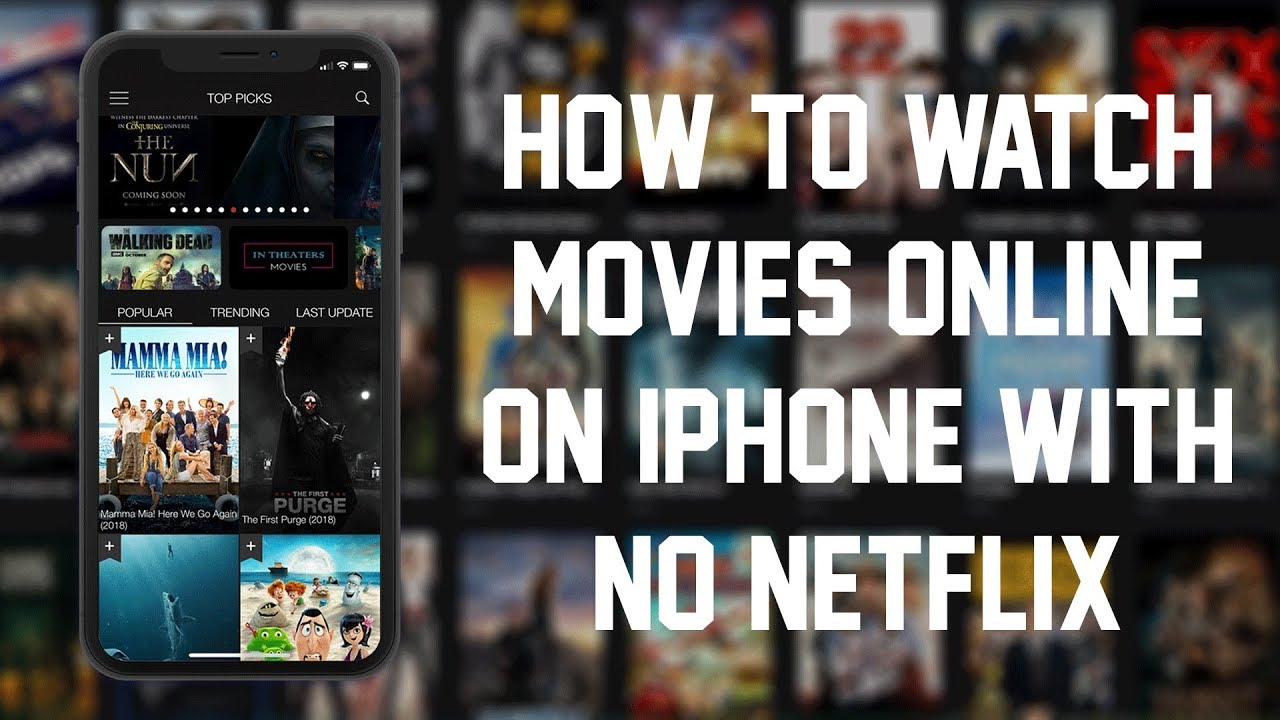 watch movies online on iphone
