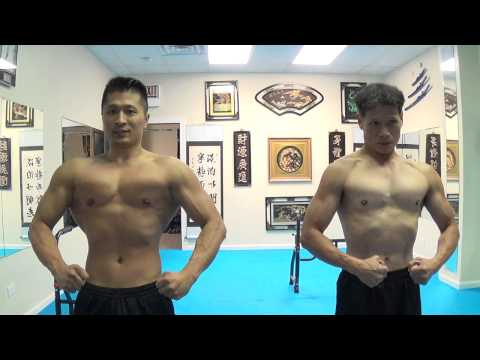 THE LIVING BRUCE LEE - Sigung Flexing at 63 yrs old with Sifu at 31 yrs old