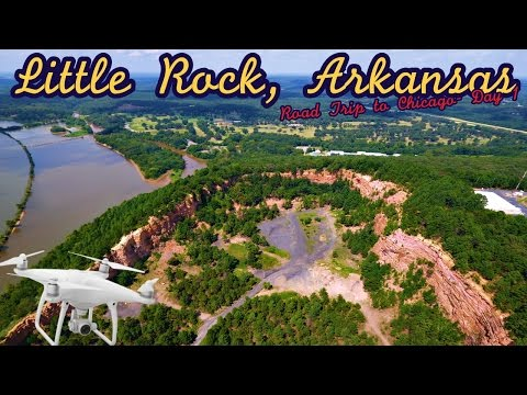Little Rock, Arkansas- DJi Phantom 4 4K(UHD)