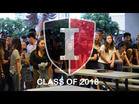 Iolani c/o 2018 First Week of School /// Senior Bench Rush