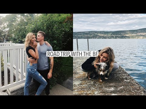 Road Trip With The BF | Kelowna Vlog