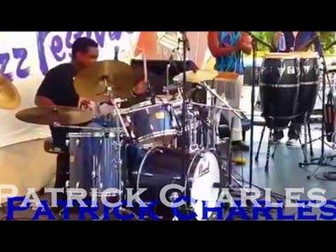 Patrick Charles-Drum solo- Sumida st. Jazz fest 2015