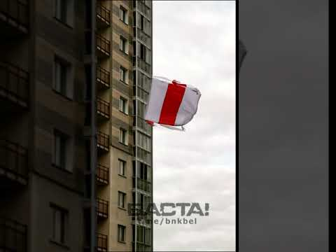 Сегодня снова бьем рекорды по количеству вывешенных флагов и лент.