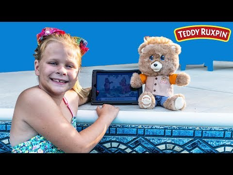 TEDDY RUXPIN Assistant Swimming, Rollercoaster, and Playground Playdate