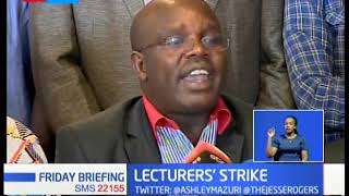 Kenyan Lecturers issue strike notice over unmet promise by the government