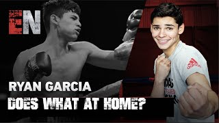 DID YOU KNOW Ryan Garcia USE TO LIVE WITH RICKY FUNEZ? | ESNEWS BOXING