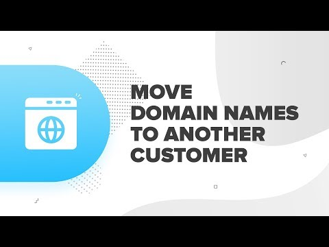 How to Move Domain Names to another Customer    ResellerClub