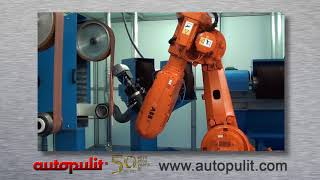 Robotic weld dressing and fabrication finishing