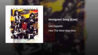 Immigrant Song (Live)