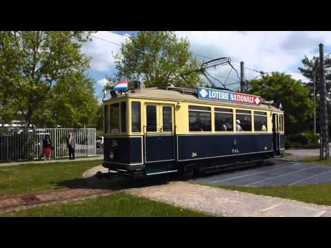 Promenade en Motrice Tramway 34 TVL - JPO Tramsmusee Luxembourg