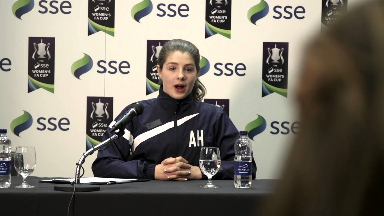 the sse women 39 s fa cup launch at wembley girlstakeover youtube. Black Bedroom Furniture Sets. Home Design Ideas