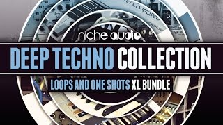 Deep Techno Loops One-Shots Pack - From Niche Audio