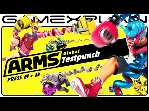 5 Minutes of ARMS Music & Gameplay Demos from the Global Testpunch