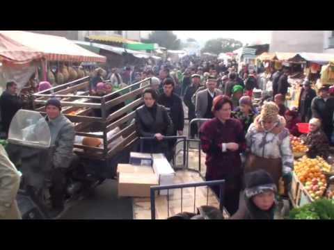 Tajikistan Khojand Food Market Central Asia. Xujand Panjshanbeh Baazaar 29-97 fps 16-9 Kambiz.mp4