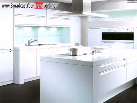 Weiße Hochglanz Küche Allmilmo