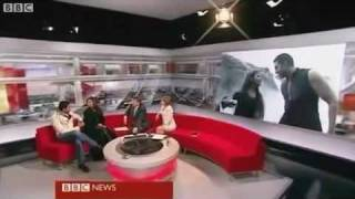 Aishwarya Rai Bachchan & Abhishek Bachchan Interview with BBC Breakfast for Ravan 2010