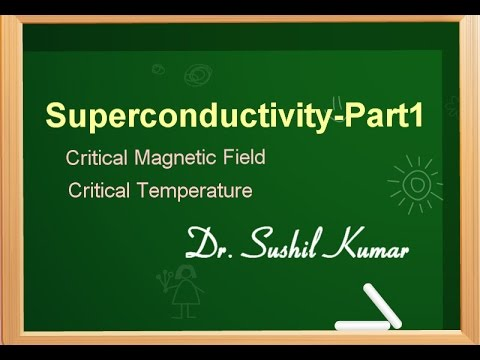 Superconductivity Basics-Critical Magnetic Field/Temperature-Part1