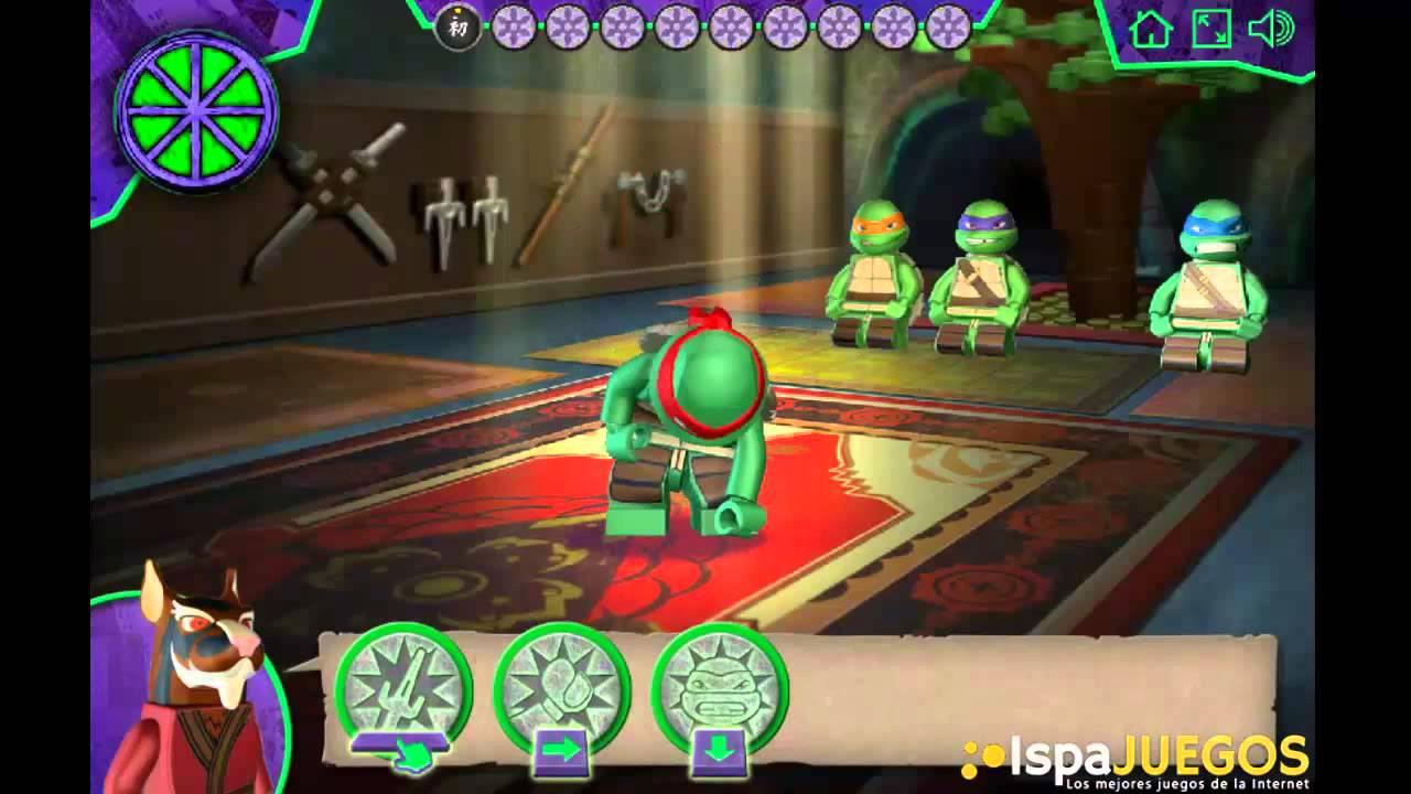 Tortugas Ninjas Mutantes Juego de Habilidad  YouTube