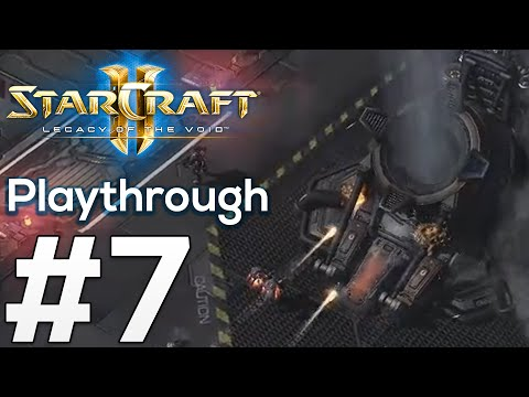 SKY SHIELD - Part 7: Starcraft 2 Legacy of the Void Playthrough Gameplay with Commentary SC2 LotV