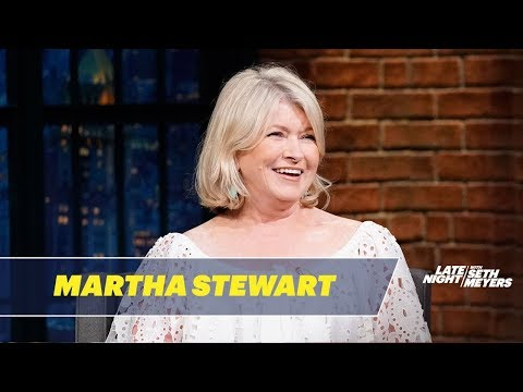 Seth Meyers vs. Martha Stewart's Chow Chow Puppies Have Really Pretentious Names