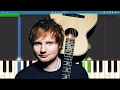 How to play How Would You Feel (Paean) - Ed Sheeran - Piano Tutorial - Instrumental download for free at mp3prince.com