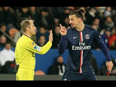 Zlatan Ibrahimovic ●Best Fights & Angry Moments | HD