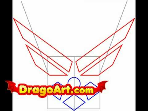 How To Draw The Air Force Symbol Step By Step Youtube