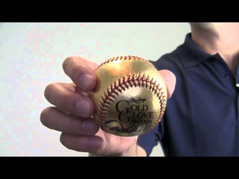 Signed Limited Edition Derek Jeter Golden Glove Ball - 3/22  - Steiner Holo