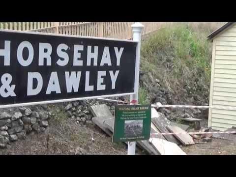 Telford Steam Railway August 2016 - YouTube